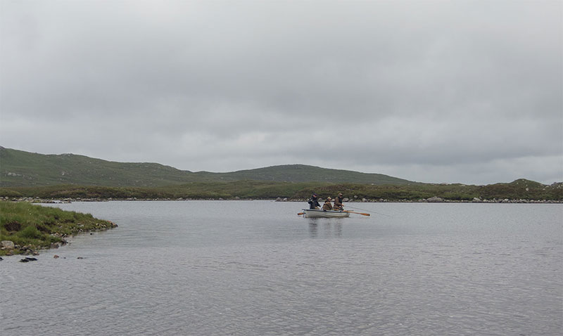 Fishing for salmon and sea trout on the Isle of harris