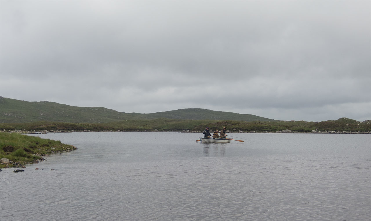 Fishing for salmon and sea trout in the Hebrides