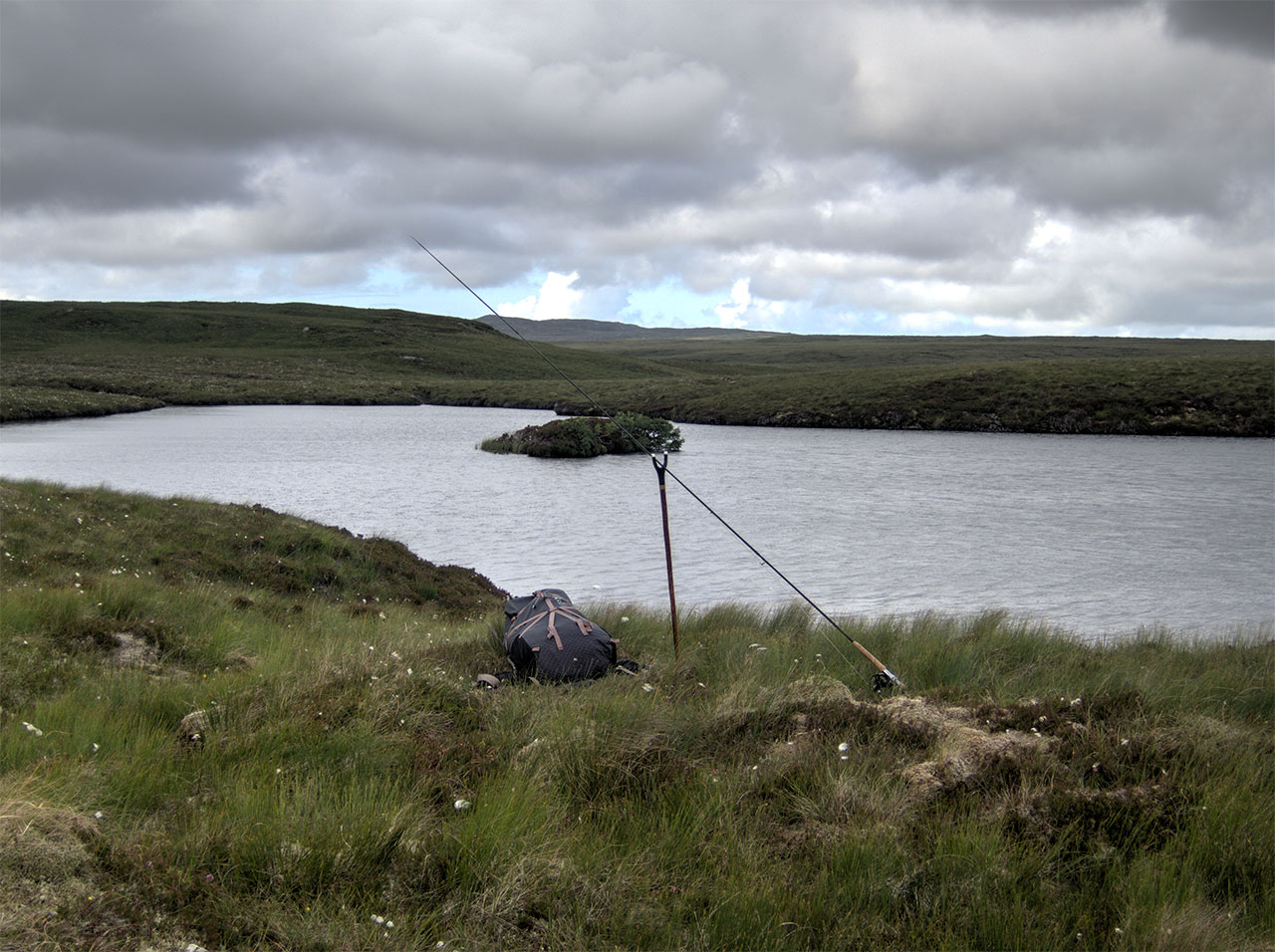 Brown trout fishing on the Isle of Lewis