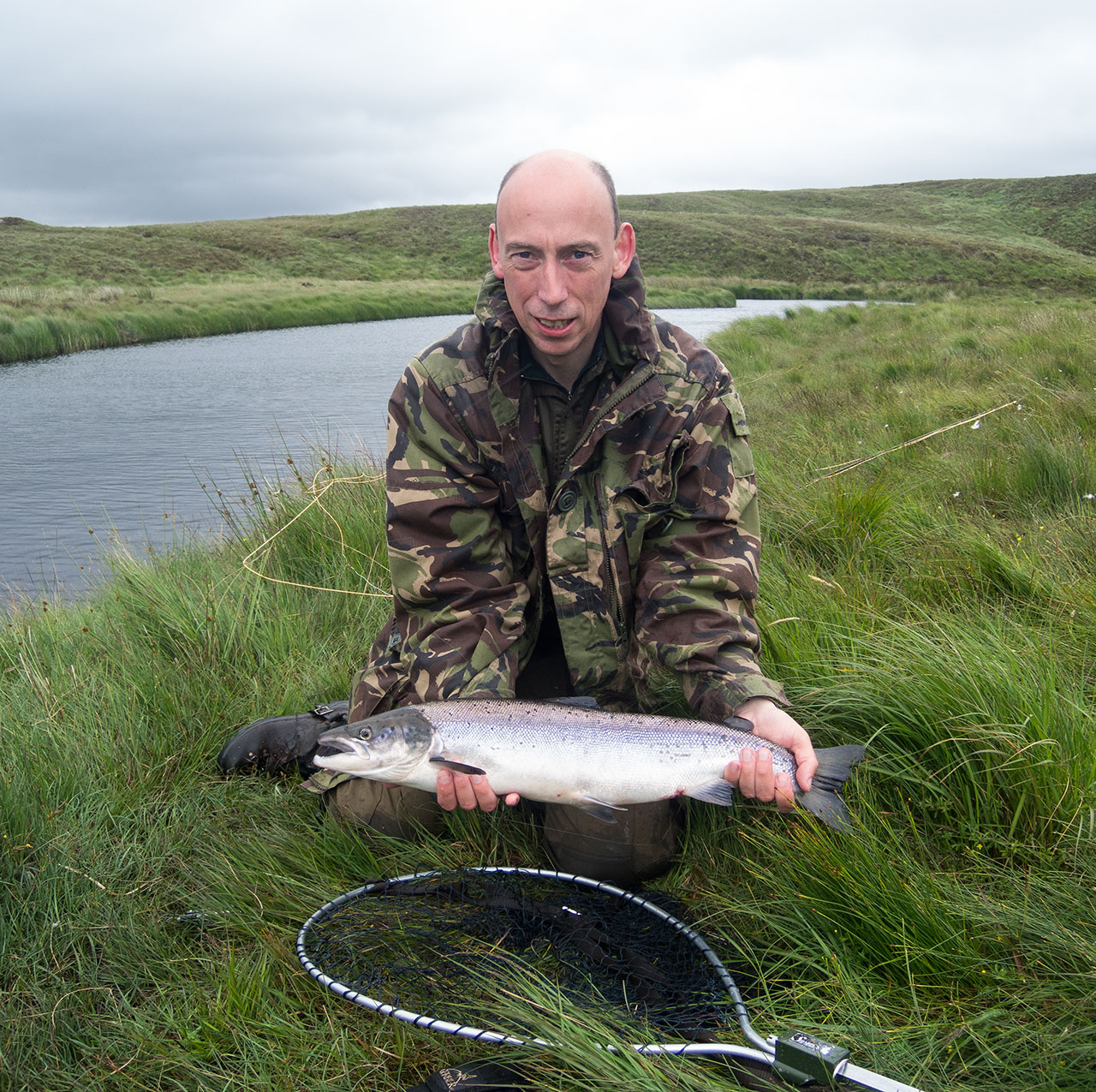 An Isle of Lewis grilse