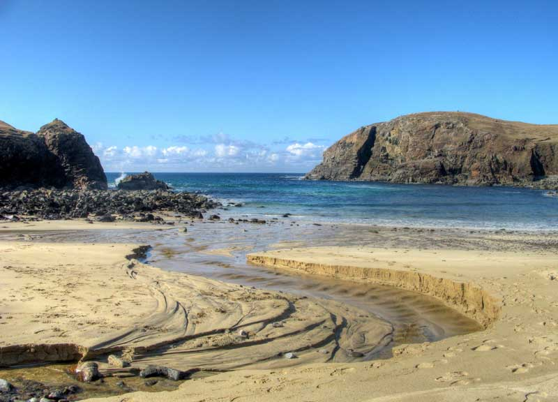 Dail Beag beach on the Isle of Lewis