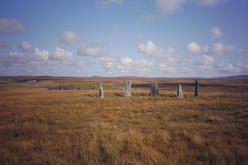 callanish outlying stone circle on the Isle of Lewis