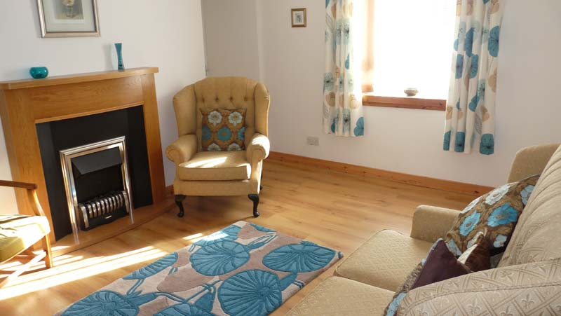 Living room at Dollags cottage self catering accommodation