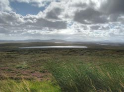 Loch nan Geadh on the Isle of Lewis