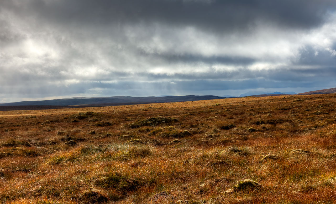 Autumn on the Lewis moorland