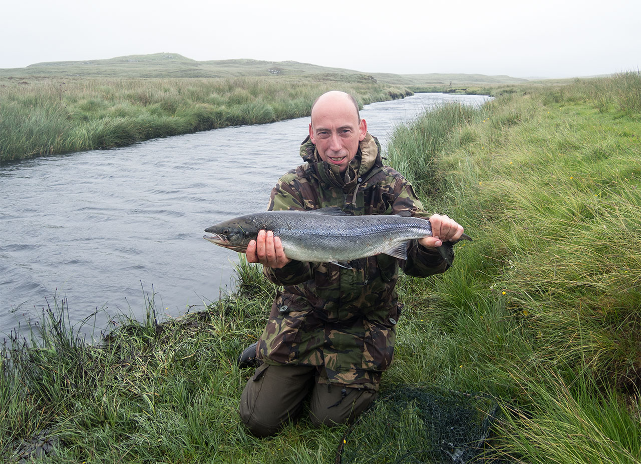 A nice Isle of Lewis grilse
