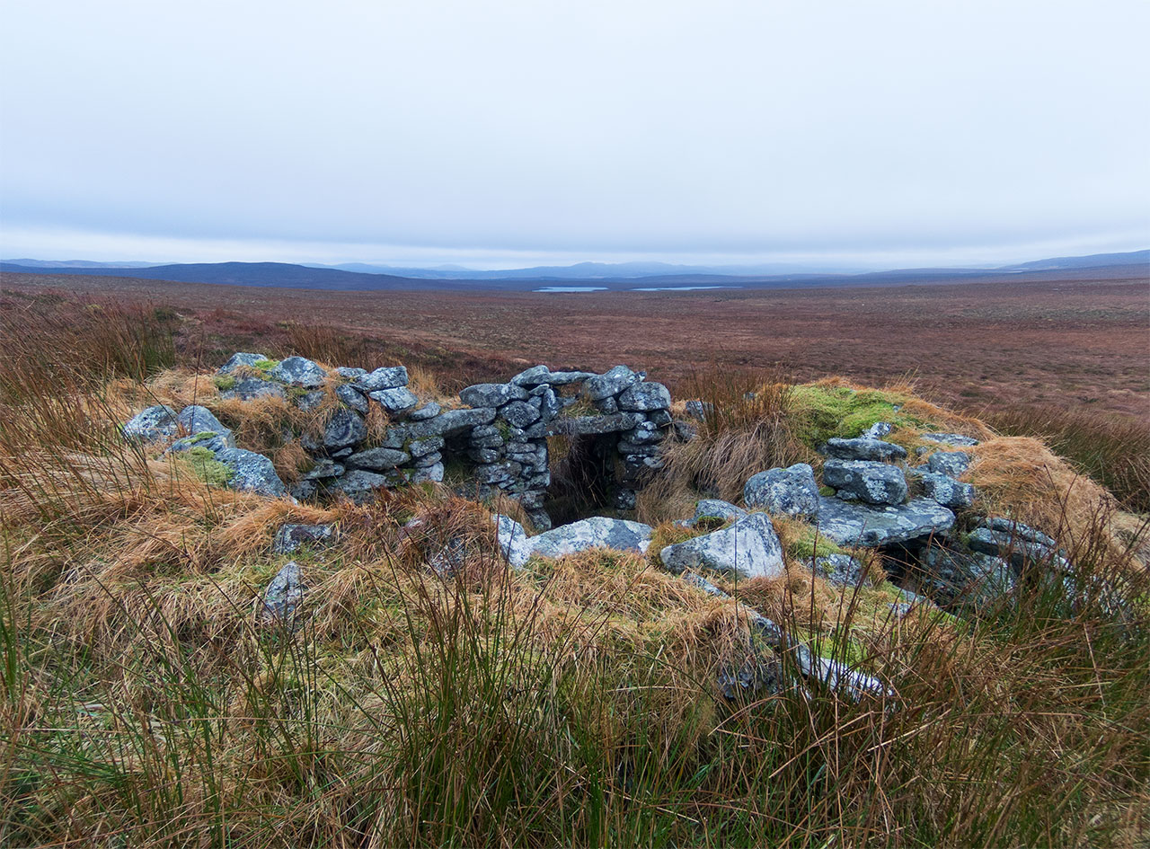 Lewis moorland in January
