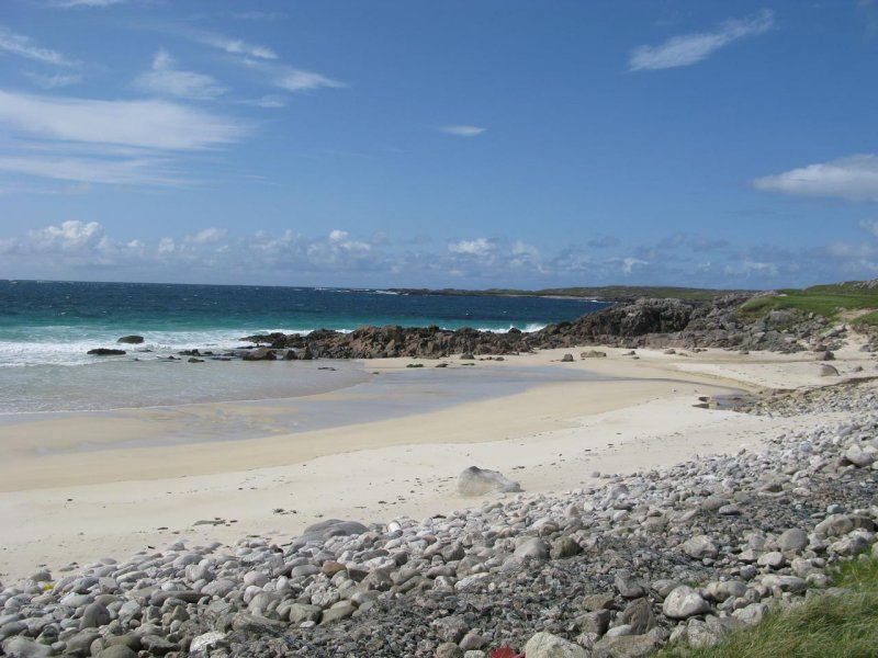 Beach on the west coast of the Isle of Lewis