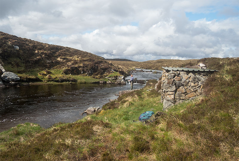 Spring salmon fishing on the Isle of Lewis
