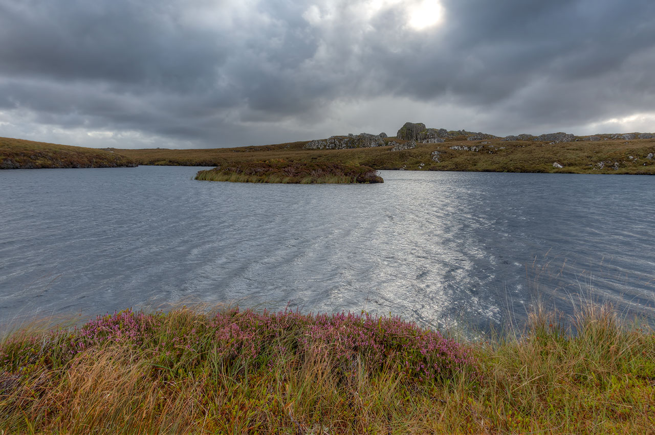 Isle of Lewis trout loch