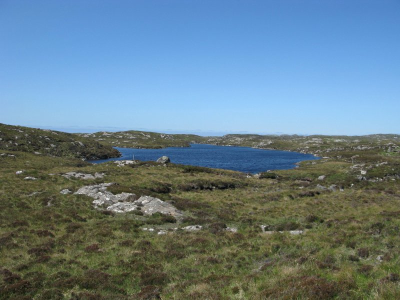 Loch Ceannamhoir on the Isle of Lewis